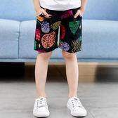 童裝男童短褲夏裝2018新款 兒童五分褲男孩