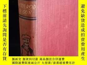 二手書博民逛書店Mr.punch罕見with rod and gun潘克先生用槍和槍 含大量插圖 書頂刷金 18.3*12cm