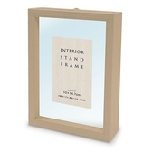 直立式木框(原木色)  /10X14.7cm/Yanoman/框/日本進口