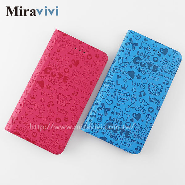 Miravivi TWM A30童趣畫風側立磁吸式皮套