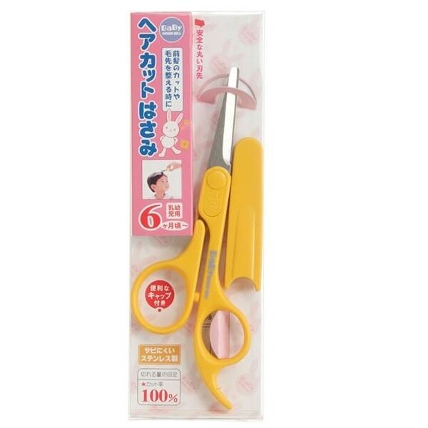 【日本製】【GREEN BELL】日本製 嬰幼兒用剪髮剪刀 BA-109(一組:12個) SD-22038-12 -
