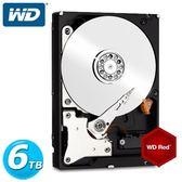 WD60EFRX 紅標 6TB 3.5吋NAS硬碟(NASware3.0)