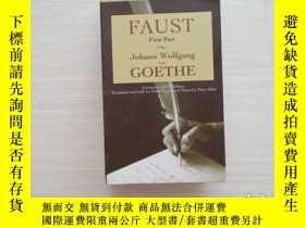 二手書博民逛書店Faust罕見first part johann wolfgan