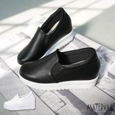 厚底鞋 質感內增高厚底包鞋 MA女鞋 T6701