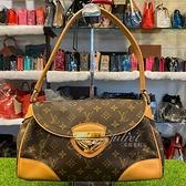 茱麗葉精品 二手精品【8.9成新】Louis Vuitton LV M40121 Beverly MM Monogram 經典花紋肩背包#895