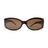 FENDI 咖啡色膠框太陽眼鏡 SUNGLASSES 【二手名牌 BRAND OFF】