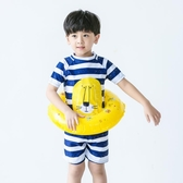 兒童泳衣男童卡通寶寶小中大童青少年分體可愛學生泳褲套裝游泳衣