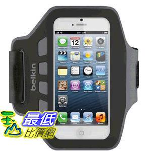 貝爾金 Belkin EaseFit Armband 運動臂套 (黑色) 臂帶 for iPhone 5, 5S, 5c and iPod touch 5th Generation F8W105ttC..