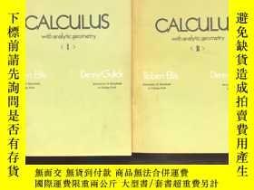二手書博民逛書店calculus罕見with analytic geometry