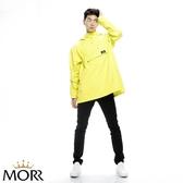 【MORR】Postshorti磁吸式反穿防水外套【開心果綠】快速穿脫/機車雨衣/連身雨衣/通勤/機車