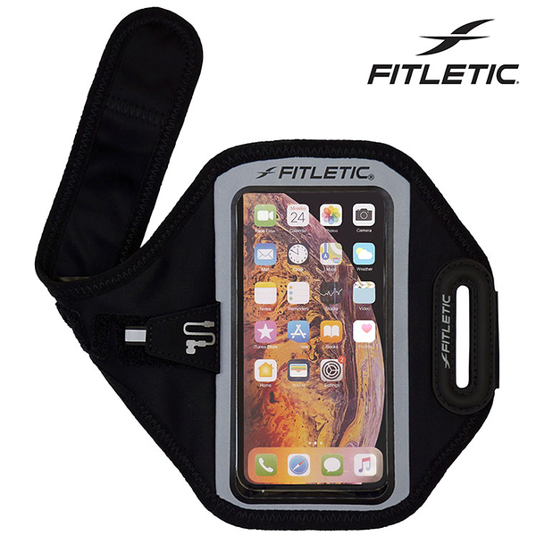 Fitletic Forte Plus觸控手機臂套FP10 / 城市綠洲 (臂套、路跑、休閒、輕量、夜光、運動)