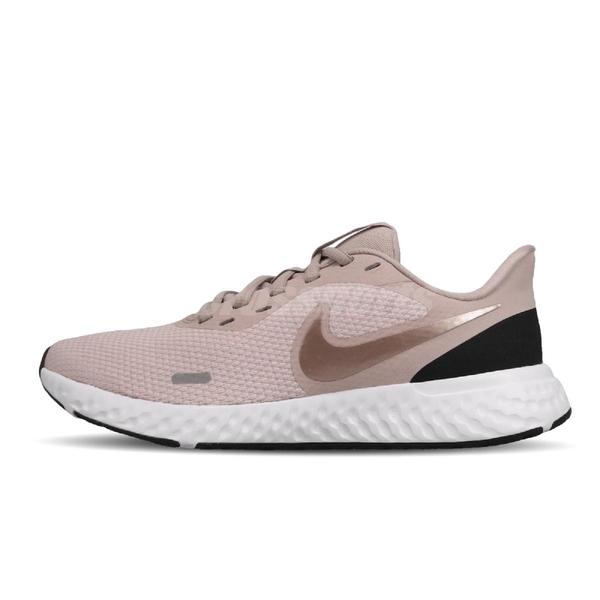 Nike 慢跑鞋 Wmns Revolution 5 粉紅 白 女鞋 運動鞋 【PUMP306】 BQ3207-600