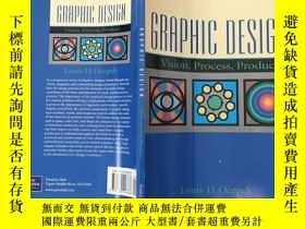 二手書博民逛書店graphic罕見design vision process p
