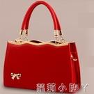 紅色新娘包包女2021年新款大容量小ck結婚包婚禮用輕奢手提包2020 蘿莉新品