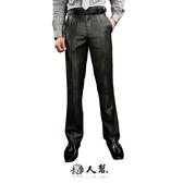 【男人幫】獨家經典熱賣黑色素面小直筒窄版西裝褲(K0414)