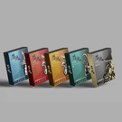 【愛愛雲端】男魂 男用活力保養濕巾 5入裝 (風(5片裝)/山(5片裝)/火(5片裝)/林(5片裝))