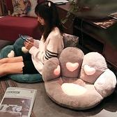 坐墊腰靠一體椅子學生屁墊可坐地墊坐墊辦公室久坐屁股墊懶人靠背 童趣屋 LX