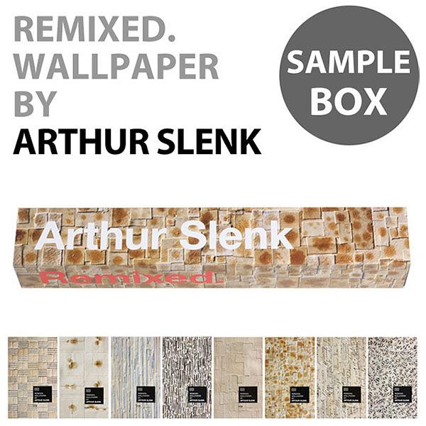 【進口牆紙】Remixed Wallpaper by Arthur Slenk【樣本套盒 7張/套】荷蘭 仿真(fake)