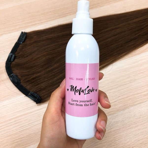 防靜電順髮露200ml 假髮、真髮都能使用的保養液/順髮液,完全不油不沾手 魔髮樂