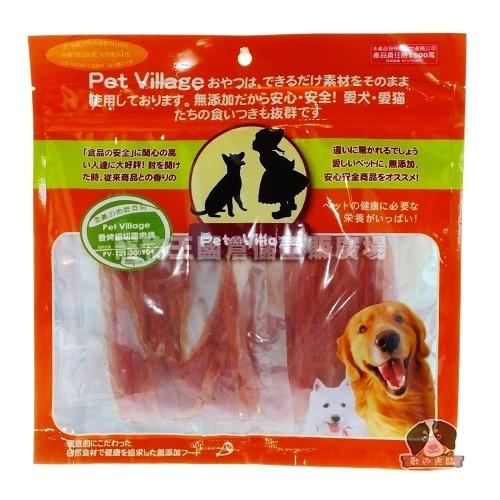 【寵物王國】魔法村Pet Village/PV-121-200Y04 PV香烤細切雞肉條200g