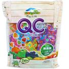 QC軟糖經濟包(水滴型外裹糖粉) 無色素+水果C健康又營養 260g/包