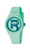Reebok ICON-DROP RAD系列腕錶-綠x藍