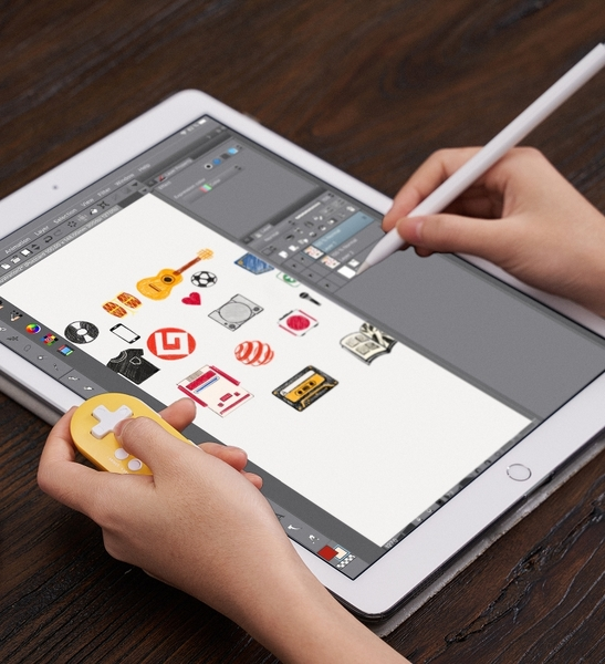 【玩樂小熊】八位堂 台灣公司貨 8bitdo Zero 2 小型輕巧藍芽手柄 支援平板繪圖軟體熱鍵 樹莓派