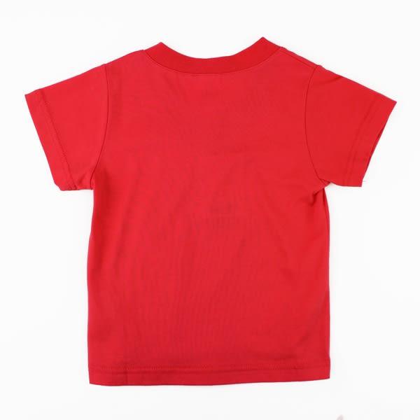 【愛的世界】純棉V領短袖T恤/2歲/4歲-台灣製- ★春夏上著