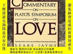 二手書博民逛書店Commentary罕見On Plato s Symposium On LoveY256260 Marsili