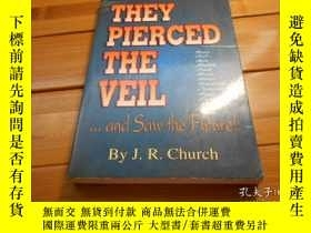 二手書博民逛書店THEY罕見PIERCED THE VEIL.....AND S