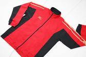 MIZUNO美津濃 男平織運動外套N2TC458162 (紅) 慢跑 平織 外套【 胖媛的店 】