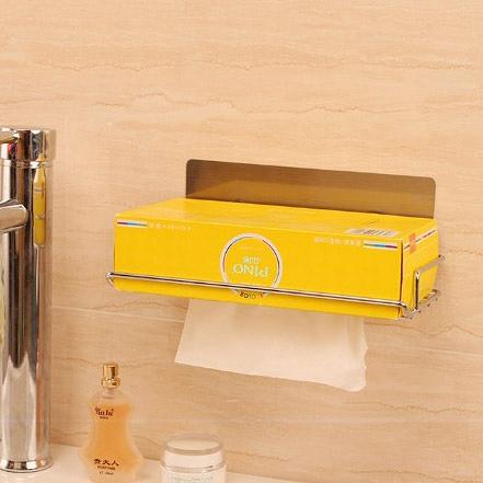 壁貼式抽取式面紙架 面紙盒 SQ5009