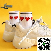 日系可愛卡通襪女草莓愛心小白鞋襪子學院風中筒短襪純棉運動襪【樂淘淘】