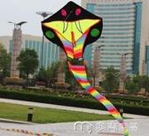 風箏濰坊風箏新款12-30米大蛇新款大型成人兒童卡通線輪微風易飛 麥吉良品YYS