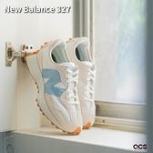 New Balance 327 女鞋 米白 湖水綠 膠底 休閒鞋 穿搭 紐巴倫 NB 【ACS】 WS327HG1-B