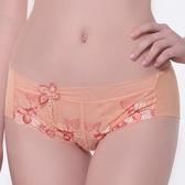 【LADY】天堂樂園系列 低腰平口褲(珊瑚橘)