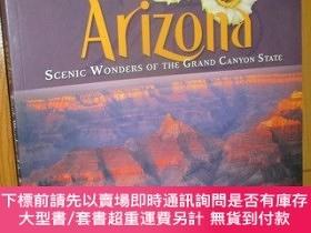 二手書博民逛書店Arizona:罕見Scenic Wonders of the Grand Canyon State (8開本)奇