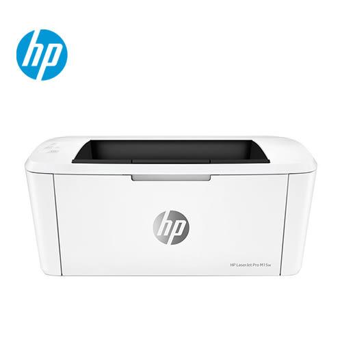 【HP 惠普】LaserJet Pro M15w 無線黑白雷射印表機 【免網登直接送控溫捲髮器】