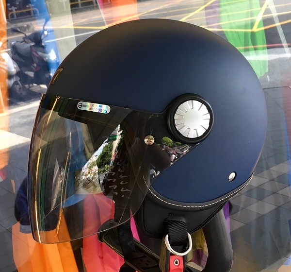 ASTONE安全帽,AJ(228),素色/消光藍