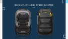 【Targus】15.6吋 Fitness 筆電/運動多功能後背包 TSB944