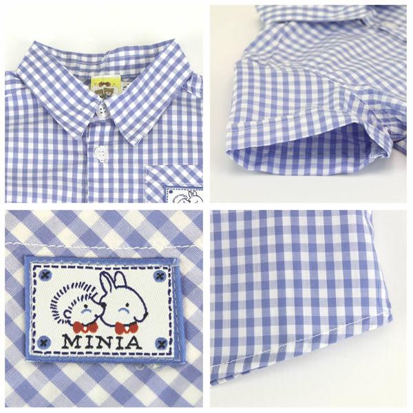 【愛的世界】純棉格紋襯衫/2歲/4歲-台灣製- ★春夏上著