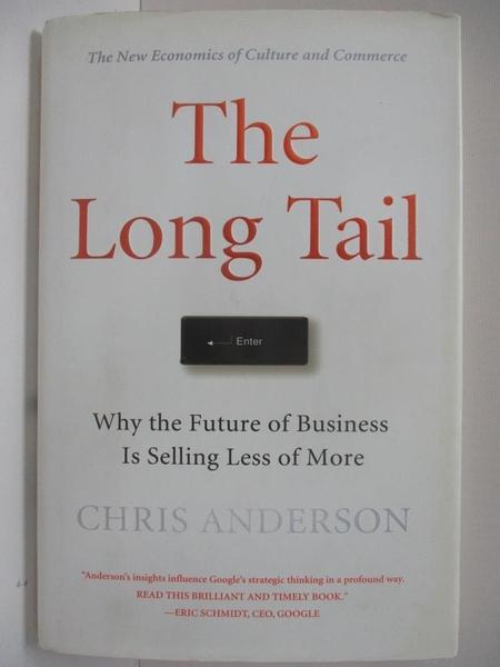 【書寶二手書T4/財經企管_DNO】The Long Tail_Anderson, Chris, 克里斯.安德森