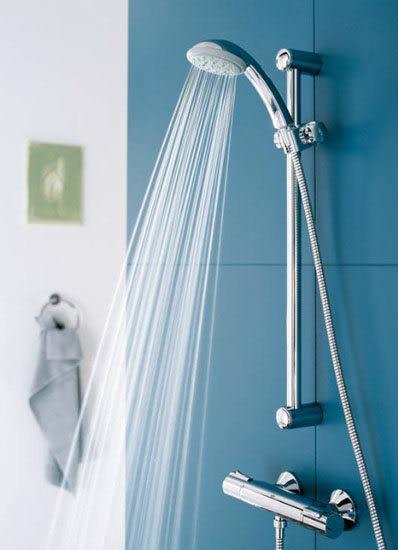 【麗室衛浴】德國GROHE 三段式蓮蓬頭 滑桿組 28592