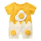 嬰兒連身衣服夏季6純棉2個月新生兒男短袖網紅可愛女寶寶薄款夏裝 滿天星