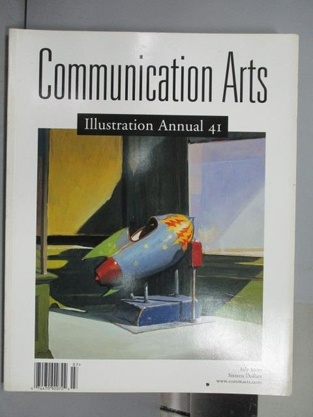 【書寶二手書T3/設計_QNO】Communication Arts_297期_illustration Annual
