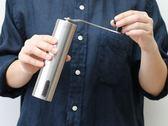 不銹鋼手動咖啡豆研磨機家用手搖現磨豆機粉碎器小巧便攜迷你水洗星河