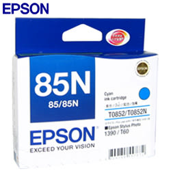 EPSON 852N原廠墨水匣T122200 (藍)原T085200
