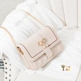 鍊條包 ins菱格小包包女2020新款韓版洋氣鍊條小方包時尚百搭單肩斜背包 4色