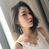 日韓復古民族風不對稱鏈條蝴蝶耳鉤個性百搭長款流蘇耳環女耳飾品