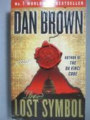 【書寶二手書T1/原文小說_ONJ】The Lost Symbol_Dan Brown